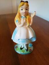 Walt Disney Vintage Alice in Wonderland ceramic figurine 1960s