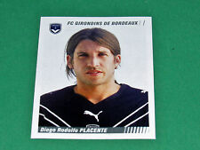 N°38 PLACENTE GIRONDINS BORDEAUX PANINI FOOT 2009 FOOTBALL 2008-2009