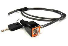 CUBEBYTE SLIM MICROSAVER KEYED LAPTOP LOCK CABLE -UK SELLER