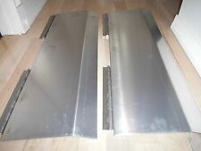Trailer Door Gap Transition Flaps Hinged Two Piece Cover for Race Car Hauler