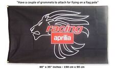 FREE SHIP TO USA Aprilia Black Lion Flag motorcycle 3x5 feet banner rsv tuono