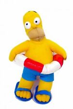 """Homer Simpson Wearing Swim Suite & Swimming Tube 8"""" Plush-Brand New with Tags!"""