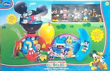 Disney Deluxe Mickey Mouse Clubhouse Play Set with 6 Figures