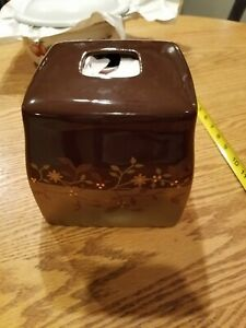 Bed Bath & Beyond Brown Tissue Box Cover