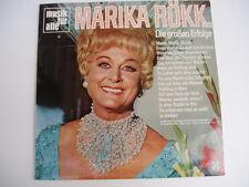 MARIKA ROKK  - HUNGARIAN SINGER - RARE Hungary LP
