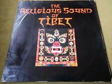 RELIGIOUS SOUND OF TIBET-LP(TELDEC-GERMANY)