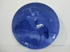 Bing Grondahl Easter Plate Paasker Vtg 1918 The Stork Bird B&G Achton Friis Rare