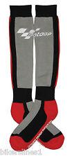 Motogp moto GP botas invierno calcetines largos hasta rodilla negro rojo