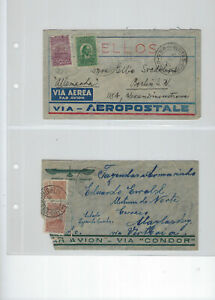 BRAZIL-AIR COVERS-EXTERNAL TO EUROPE-USED-AVERAGE-#81
