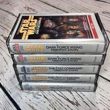 Time Warner Audio Books Star Wars Dark Force Rising Last Command Heir Empire