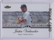 Justin Verlander RC Topps Finest ROOKIE CARD Tigers Baseball HOUSTON ASTROS!!