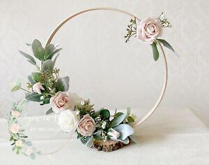 Blush Pink wedding centre pieces