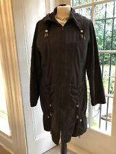 Pause Café Quirky Autumn Winter Coat Grey/Black Brown Size 42/ UK14 Ex Cond