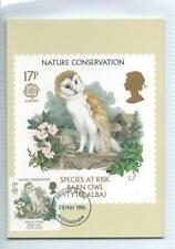 Nature Decimal Used Great Britain PHQ Cards