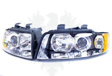 New Genuine Audi A4 B6 8E Headlight Set Left Right Headlights Halogen Drl '02-05