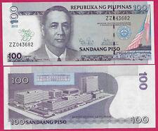 PHILIPPINES 100 PISO 2012 UNC 100 YEARS MANILA HOTEL,PRESIDENT M.ROXAS AT LEFT C