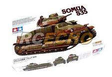 Tamiya Military Model 1/35 French Medium Tank SOMUA S35 Scale Hobby 35344