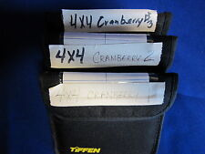 TIFFEN 4x4 FILTER  CRANBERR    1, 2, 3,   (USED)  (LOT OF 3)