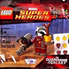 NEW LEGO Marvel Super Heroes Guardians of the Galaxy Rocket Raccoon Toy Building