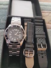 Magnum Uhr Uhrenset Armbanduhr Mit 2 X Wechselarmbänder Ovp