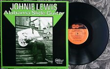 ALABAMA SLIDE GUITAR LP: JOHNIE LEWIS - ARHOOLIE 1055 with Charlie Musselwhite