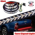 48 Led Truck Strip Tailgate Turn Signal Brake Tail Reverse Light Bar For Chevy