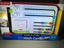 Think and Learn Count & Add Math Center  Fisher Price 3-6 Preschool NEW NIB