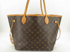 AUTH LOUIS VUITTON M40156 MONOGRAM NEVERFULL MM TOTE BAG EY451
