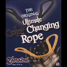 Brand New Magic - Amazing Colour Changing Rope (Black to Yellow) by Zanadu