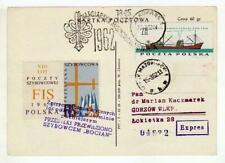 A1141) POLAND GLIDERS 1962 Expr PC Zacopane Gorzow FIS