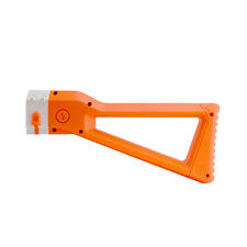 Worker Mod Shoulder Stock Replacement For Nerf N-strike Elite  Orange Color