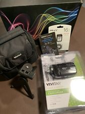 Vivitar Dvr-508 Hd Digital Video Camera With Accessories Package - Brand New