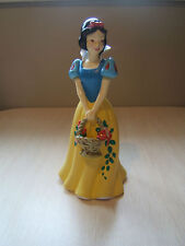 """Disney 8"""" Snow White Plastic Coin Bank with Stopper"""