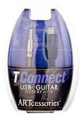 Art connexion de transport-USB Câble de guitare-Tconnect-Jack plug à prise USB *** Nouveau ***
