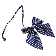 Bowknot College Style Student Suit Cravat Butterfly Knot Stripes Accessories G