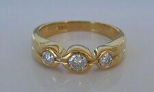 Magic ✨ 0,40 ct.✨ Brillant in aus 14kt 585 Gelb Gold Ring Diamant mit Brillanten