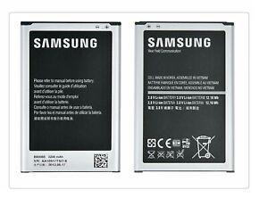 GENUINE SAMSUNG B800BE BATTERY FOR GALAXY NOTE 3 GT-N9000 GT-N9005 / 3200mAh