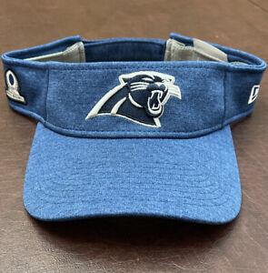 Men's Carolina Panthers New Era NFL Pro Bowl Official Visor Hat NWOT Blue