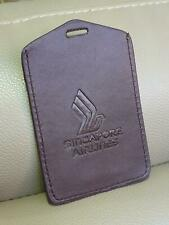 Authentic Singapore Airlines SQ Access Card Pass Holder (brown)