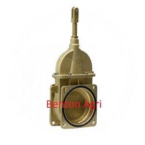 """Slurry tanker MZ 6"""" gate valve 4 bolt flange universal  Hi-spec, Major Joskin"""
