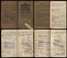 1925-40 London BATTERSEA NORTHCOTE RD - POST OFFICE SAVINGS BOOK