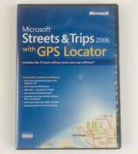 Microsoft Streets and Trips With GPS Locator 2006 - 2 Disc