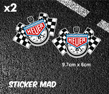 CHRONOGRAPH HEUER StopWatch Stickers HIGH QUALITY 97mm LE MAN  LOTUS Tag Heuer