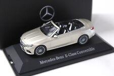 1:43 iScale Mercedes E-Klasse Cabrio beige DEALER NEW bei PREMIUM-MODELCARS