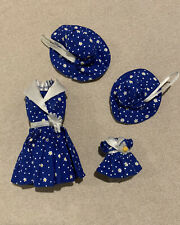 Barbie and Kelly Fashion Avenue Matchin Styles 1998 Blue Daisy #19206