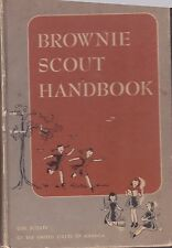 1951 Brownie Scout Handbook Girl Scouts of America Hardbound 95 Pages