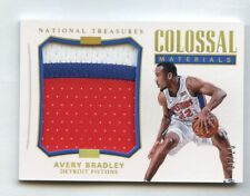 Avery Bradley 2017 National Treasures Colossal Materials Patch #/10