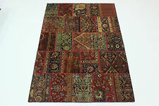 moderne Patchwork Délavé Used Look PERSAN TAPIS tapis d'Orient 2,95 x 1,95