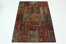 moderne Patchwork délavé look antique PERSAN TAPIS tapis d'Orient 2,95 x 1,95
