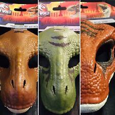 🦖 ¡Hot! 2020 Mattel Jurassic World Velociraptor T Rex Mask Legacy Collection !
